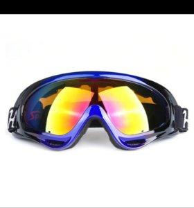 Горнолыжные сноубордические очки маски