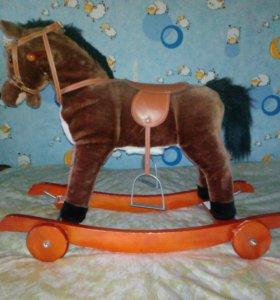 Каталка лошадка
