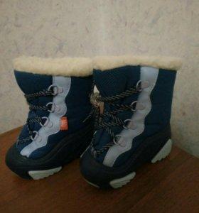 Зимние сапожки для мальчиков.
