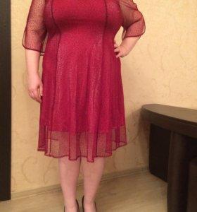 Женское платье 60-62 размера