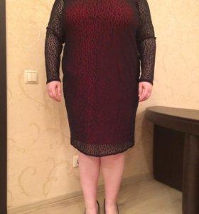 Женское платье размер 62-64