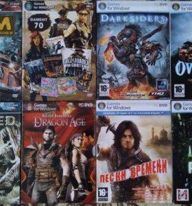 PC DVD-ROM Диски с играми (Все по 50руб.)