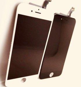 iphone 6 модуль дисплей белый/черный копия ААА++