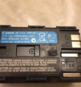 Аккумулятор BP-511A Canon 10D 20D 30D 40D 50D 5D