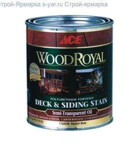 Ace Paint WOOD Royal Deck Siding Semi-transparent
