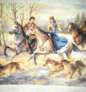 Картина «Русская охота»