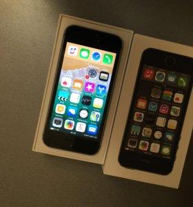 Айфон 5s 32гб полный комплект!