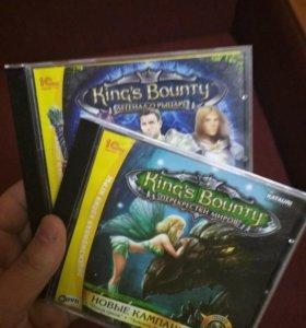 2 диска с играми Kings of Bounty