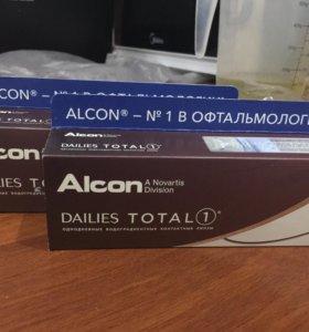 Линзы alcon