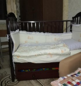 """Кроватка детская гандылян""""людмила"""""""