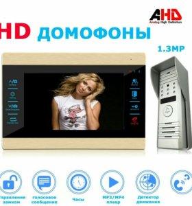 Мультимедийные HD Видеодомофоны Комплект