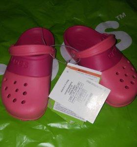 Сабо crocs новые