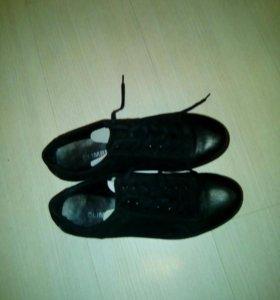 Туфли мужские новые из натуральной замши
