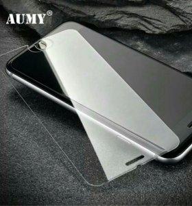 Стекло закаленное к Айфон, есть 3D, 4D