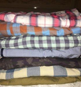Рубашки мужские размер S-M