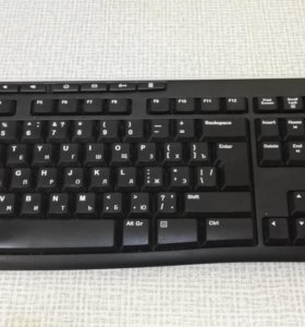 Logitech Wireless Keyboard K270 Black USB