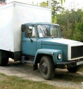 Газ 53 фургон.