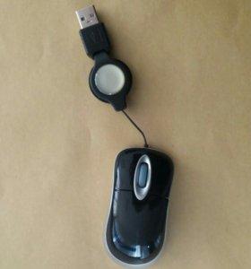 Мышь оптическая мини новая