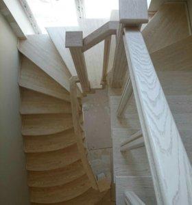 Изготовление лестниц, мебели, интерьеров