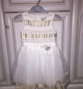Нарядное платье 110 рост