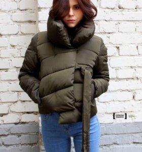 Стильная куртка хаки