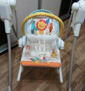 Fisher Price(США) Кресло-качалка 3а1