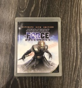 Игра на PS3 Star Wars force unleashed