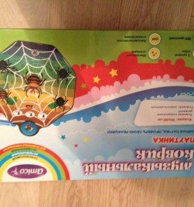 Детский игровой музыкальный коврик паучки