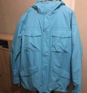 Новая сноубордическая Куртка DC Enzo Blue Toll