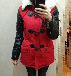 Зимняя парка теплая, зимняя куртка СО СКИДКОЙ