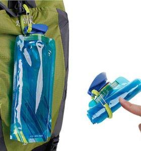 Пакет для воды, туристический, складной, 700 мл