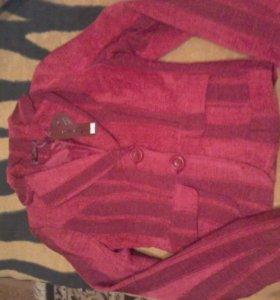 Новый укороченный пиджак