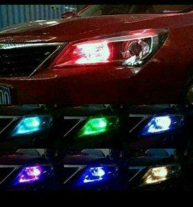 Светодиоды RGB с пультом