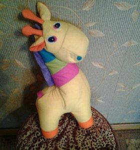 Игрушка антистресс жираф 45 см