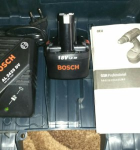 Аккумулятор BOSCH 18v + зарядное устройство