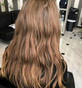 Кератиновое выпрямление волос,Ботокс,холодное вост