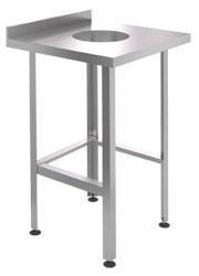 Стол для сбора отходов CRYSPI ССО 600/600 Z