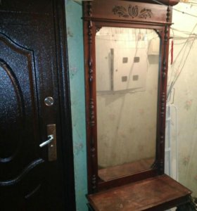 Старинное зеркало трюмо
