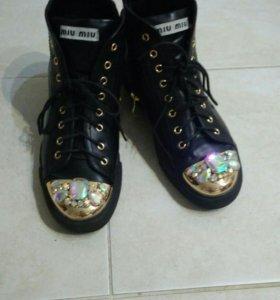 Ботинки женские mia mia