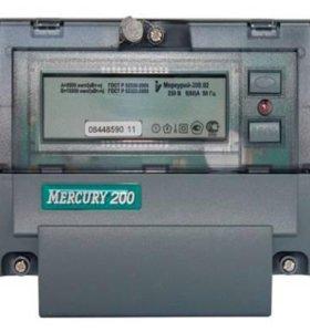 Меркурий 200.02 (5-60А) 1ф. многотарифный