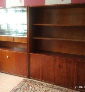 Мебель шкафы полированные