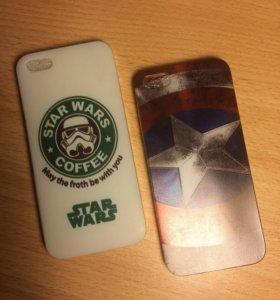Для iPhone 5s,5,SE.    (Продаётся по одному)