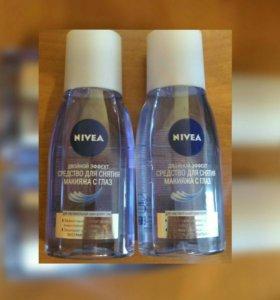 Средство для снятия макияжа с глаз Nivea, за оба