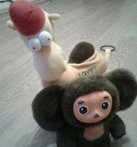 Чебурашка и Верблюд.