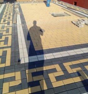 Плитка, асфальт, бетон