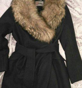Пальто зимнее шерстяное 46-48
