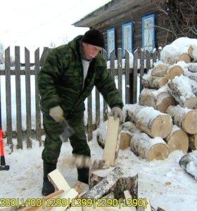 Колотые дрова с доставкой по СпБ и области