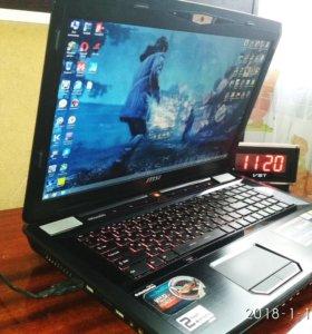 Ноутбук MSI GT70 (GTX870M,Core i7,8Gb RAM)