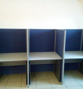 Столы с перегородками