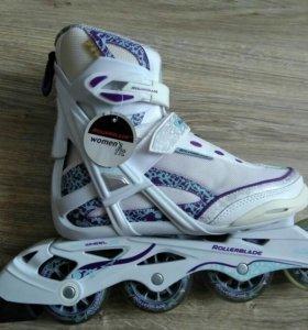 Роликовые коньки Rollerblade новые женские